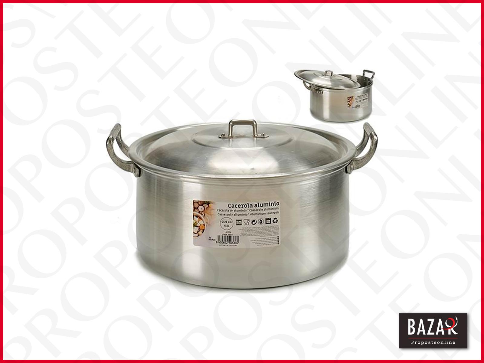 Cacerola aluminio 26cm 6,5L | eBay